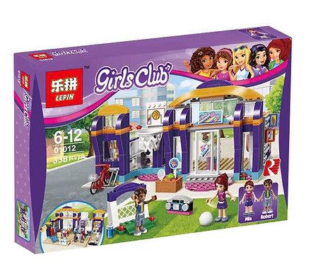 Коробка аналог Lego Friends Спортивный центр | 41312 | LEGOREPLICA