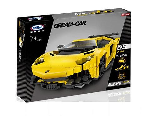 Коробка аналог Lego Racers Lamborghini Aventador SuperVeloce MOC | LEGOREPLICA