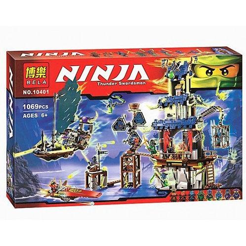 Коробка аналог Lego Ninjago Город Стикс | 70732 | LEGOREPLICA