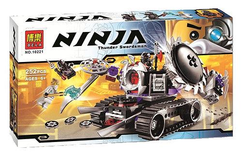 Коробка аналог Lego Ninjago Разрушитель | 70726 | LEGOREPLICA