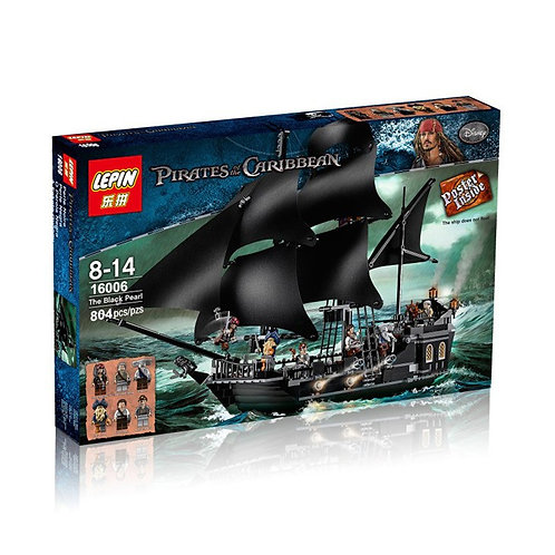 Коробка аналог Lego Pirates of the Caribbean Черная Жемчужина | 4184 | LEGOREPLICA