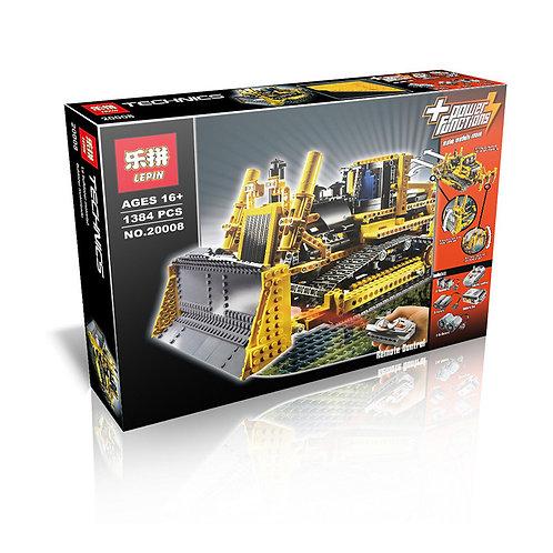 Конструктор аналог Lego Technic Бульдозер с Электроприводом | 8275 | LEGOREPLICA
