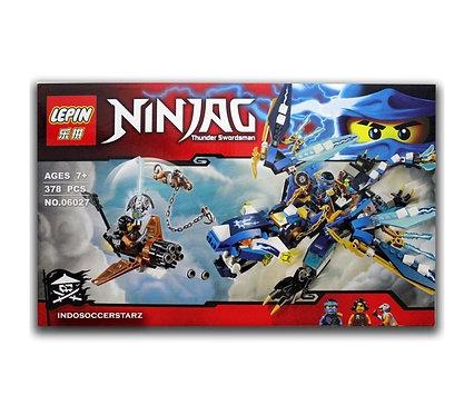 Коробка LEPIN Ninjago Дракон Джея   70602   IQREPLICA