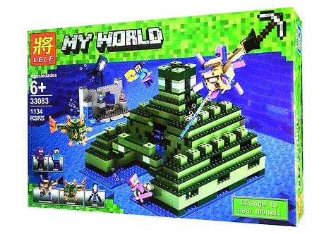 Коробка LELE Пирамида в океане   21136   IQREPLICA