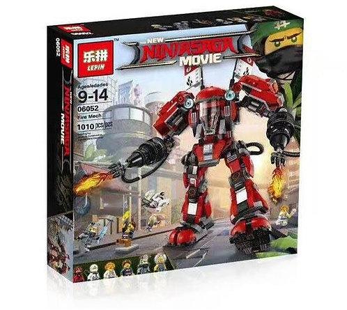 Коробка LEPIN Ninjago Series Огненный робот Кая   70615   IQREPLICA