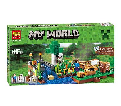 Коробка BELA Minecraft Ферма | 21114 | IQREPLICA