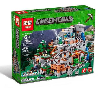 Коробка LEPIN Minecraft Горная пещера | 21137 | IQREPLICA