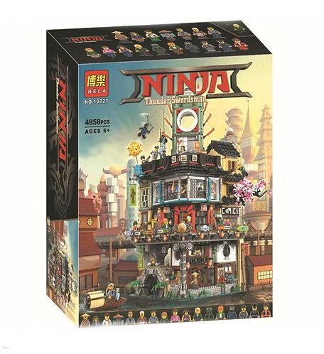 Коробка BELA Ниндзяго Сити | 70620 | IQREPLICA