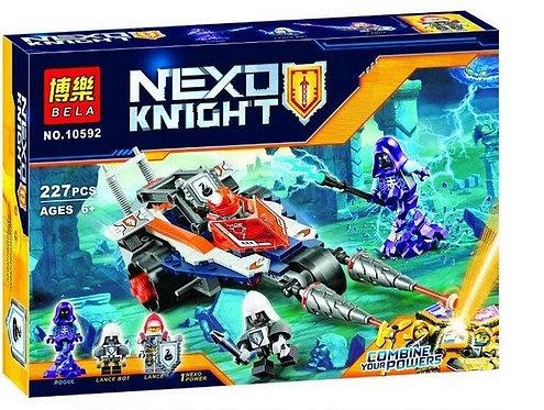 Коробка аналог Lego Nexo Knights Турнирная машина Ланса | 70348 | LEGOREPLICA