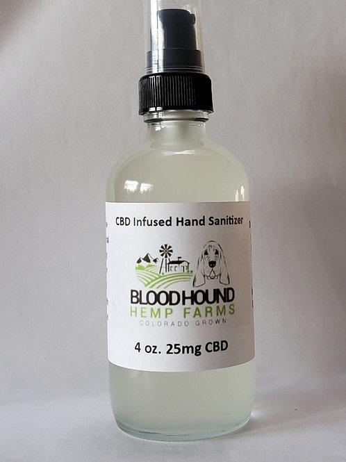 CBD Infused Hand Sanitizer 4oz