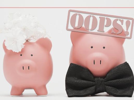 5 Mistakes Brides Always Make