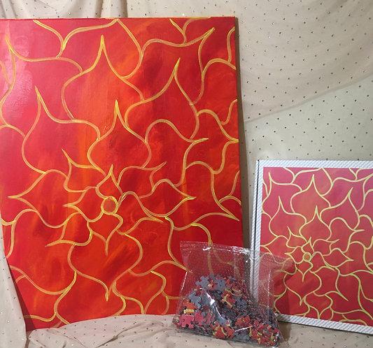 Fire Flower Puzzle