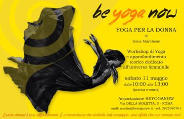 ***RIMANDATO (DATA DA DESTINARSI)*** Yoga per la donna - Sabato 11 Maggio 10:00-13:00
