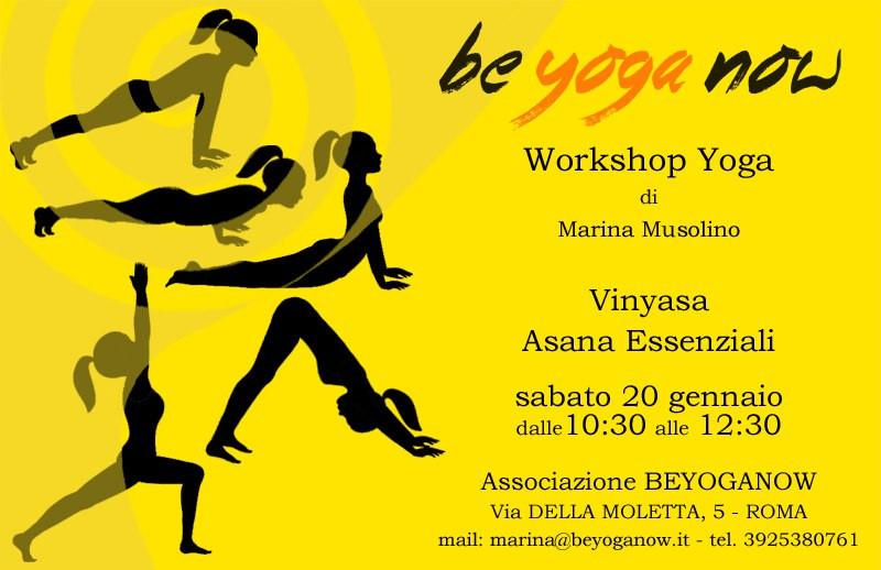 Workshop Yoga Garbatella