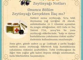 Zeytinyağı Gerçekten İlaç mı?