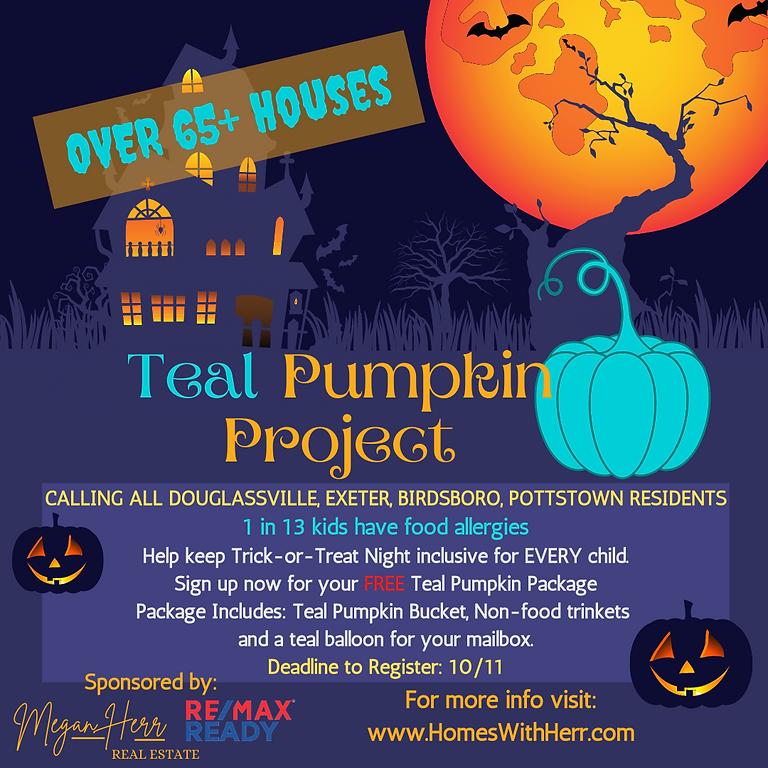 Teal Pumpkin Project Trick-Or-Treat Night