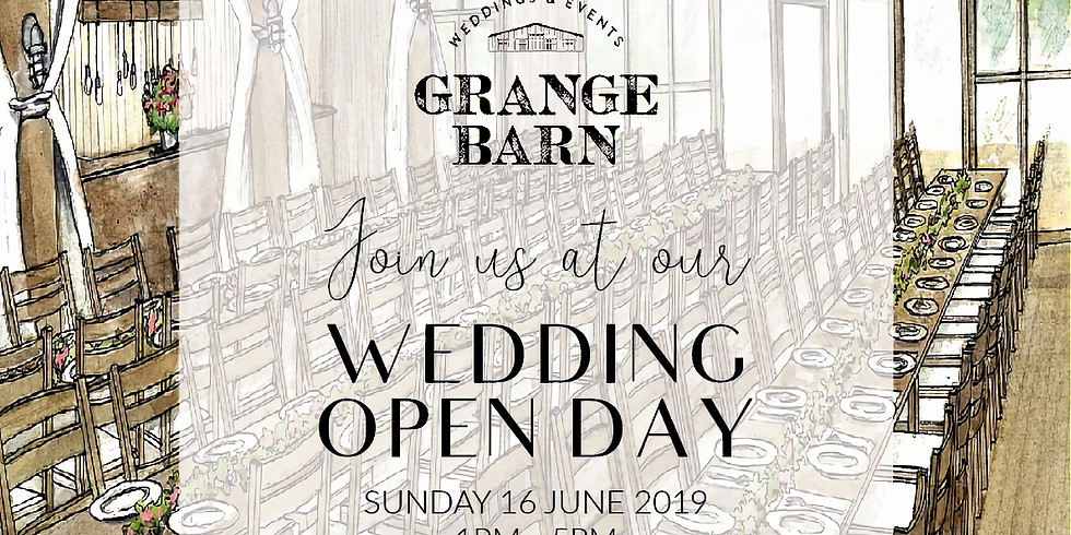 Grange Barn Wedding Open Day