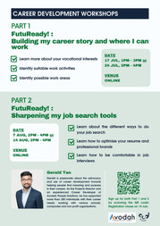 FutuReady!: Building my Career Story and Sharpening my Job Search Tools