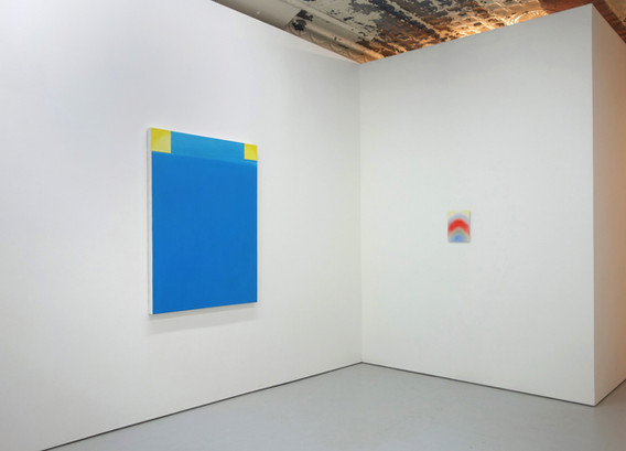 """""""I Can't Wait to See You,"""" installation view."""