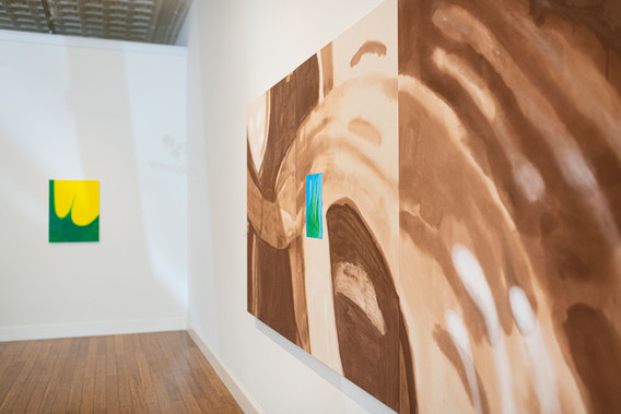 """""""If You Don't Mind the Mud"""" Installation View"""