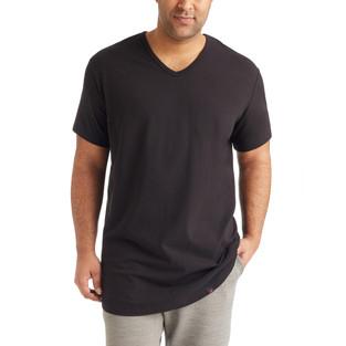 SS_21 Black V-Neck T-Shirt