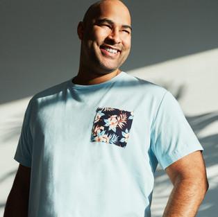SS_21 Light Blue Pocket T-shirt