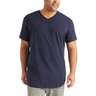 SS_21 Navy V-Neck T-Shirt