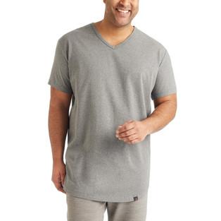 SS_21 Gray V-Neck T-Shirt