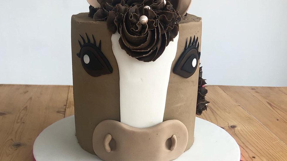 Horse / Pony Cake (serves 15-20)