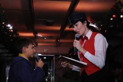Steward in The Polar Express