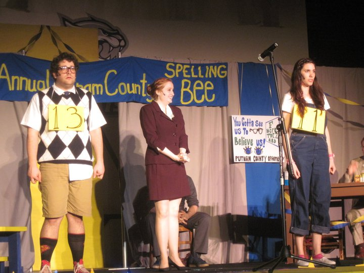 "Olive in ""Spelling Bee"""