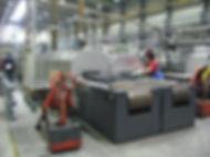 Contiblu, steam treating, Dampfbehandlung, SARNES