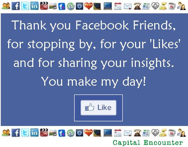 Follow Capital Encounter on Facebook