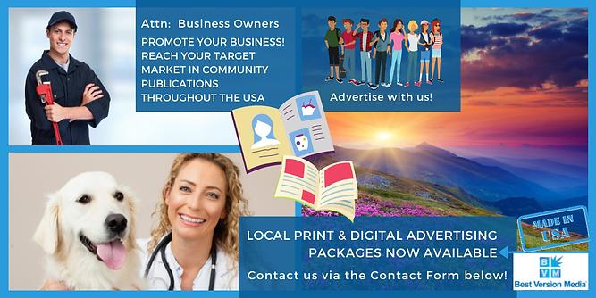 Print and digital advertising options