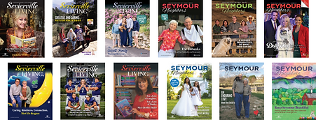 Sevierville Living and Seymour Neighbors Tennessee magazines