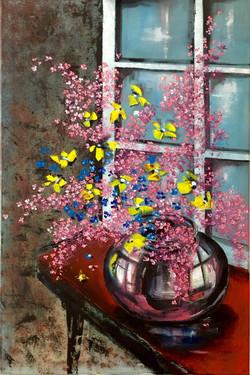 Flower Vase and Window