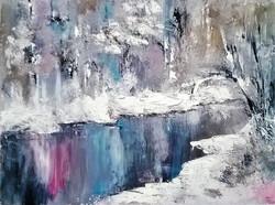 Winter / Oil On Canvas