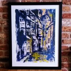 Edinburgh in Blue