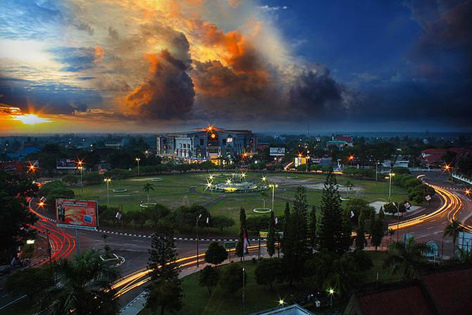 Objek Wisata Kota Cantik Palangka Raya
