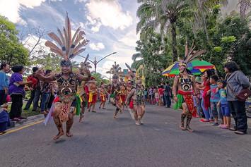 Karnaval Budaya - Festival Budaya Isen Mulang 2016