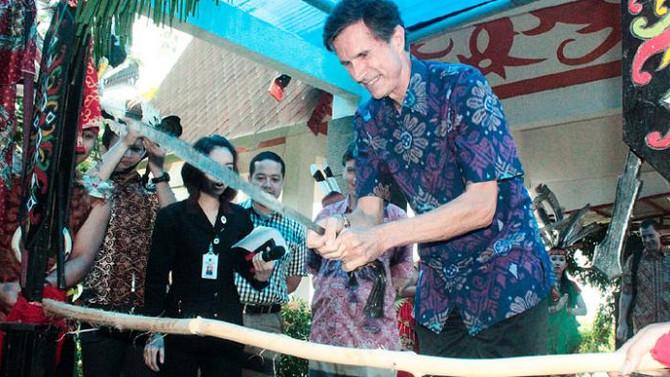 Budaya Kalimantan Tengah Potong Pantan