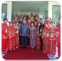 Bersama Bapak Susilo Bambang Yudhoyono