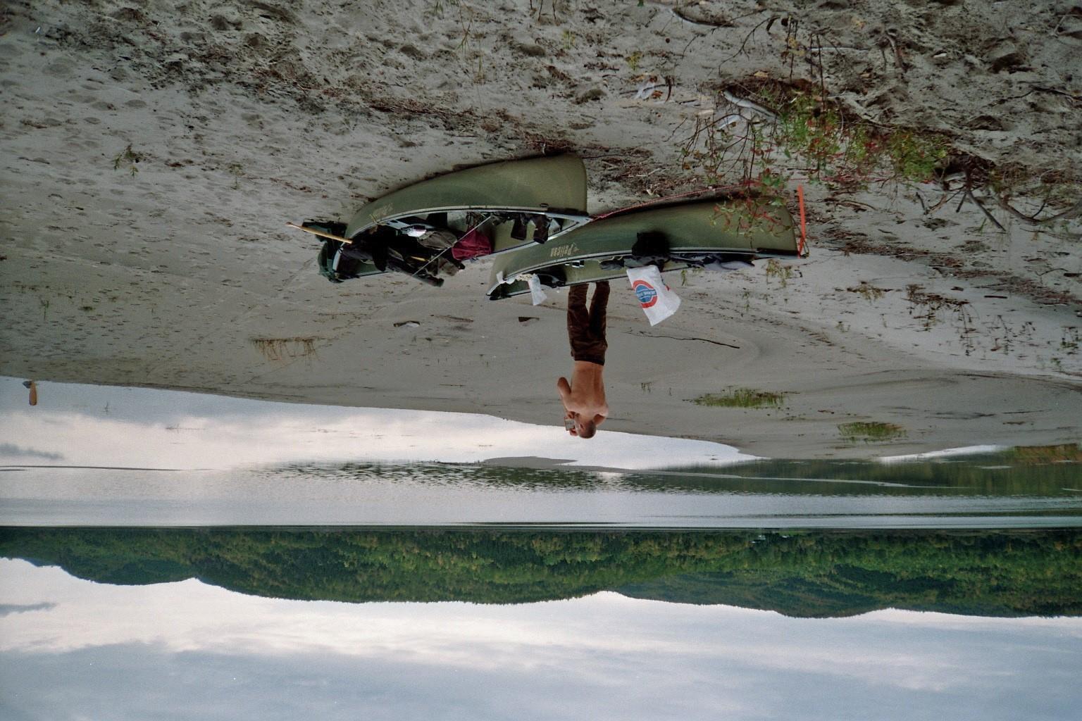 Waschen am See