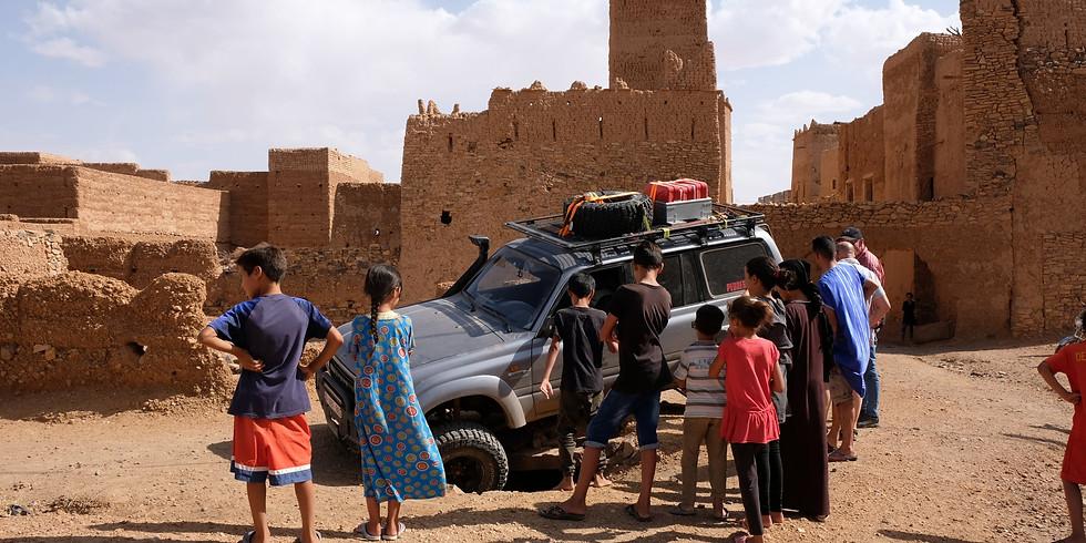 Live Online Multi Media Vortrag - Abenteuer Marokko auf 4x4 Rädern