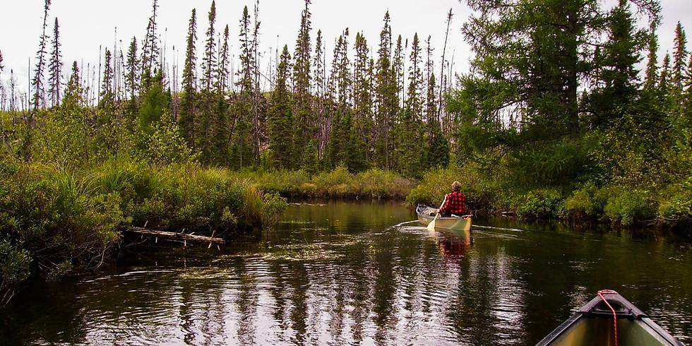 SPEZIAL: Live Online Multi Media Vortrag - Kanada, 14 Tage Kanu Abenteuer in der Wildnis