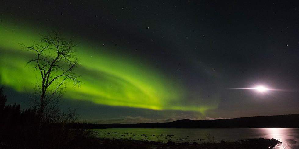 Live Online Multi Media Vortrag aus Kiruna - Mein Winter in Lappland  - Teil 1
