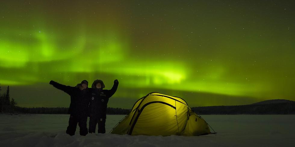 Kurs Nordlichter fotografieren Kiruna / Jukkasjärvi (1)