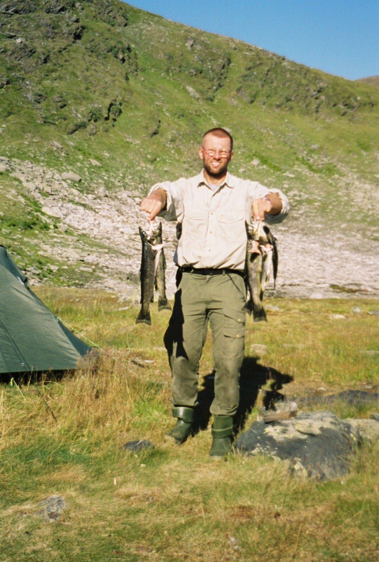 Nordschweden mit Bachforellen