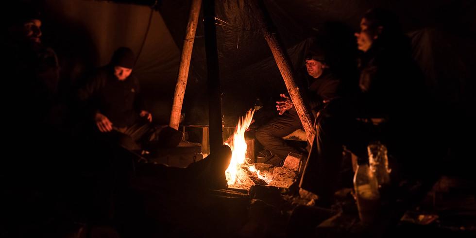Sylvester am Lagerfeuer - ohne Böller ins Neue Jahr!