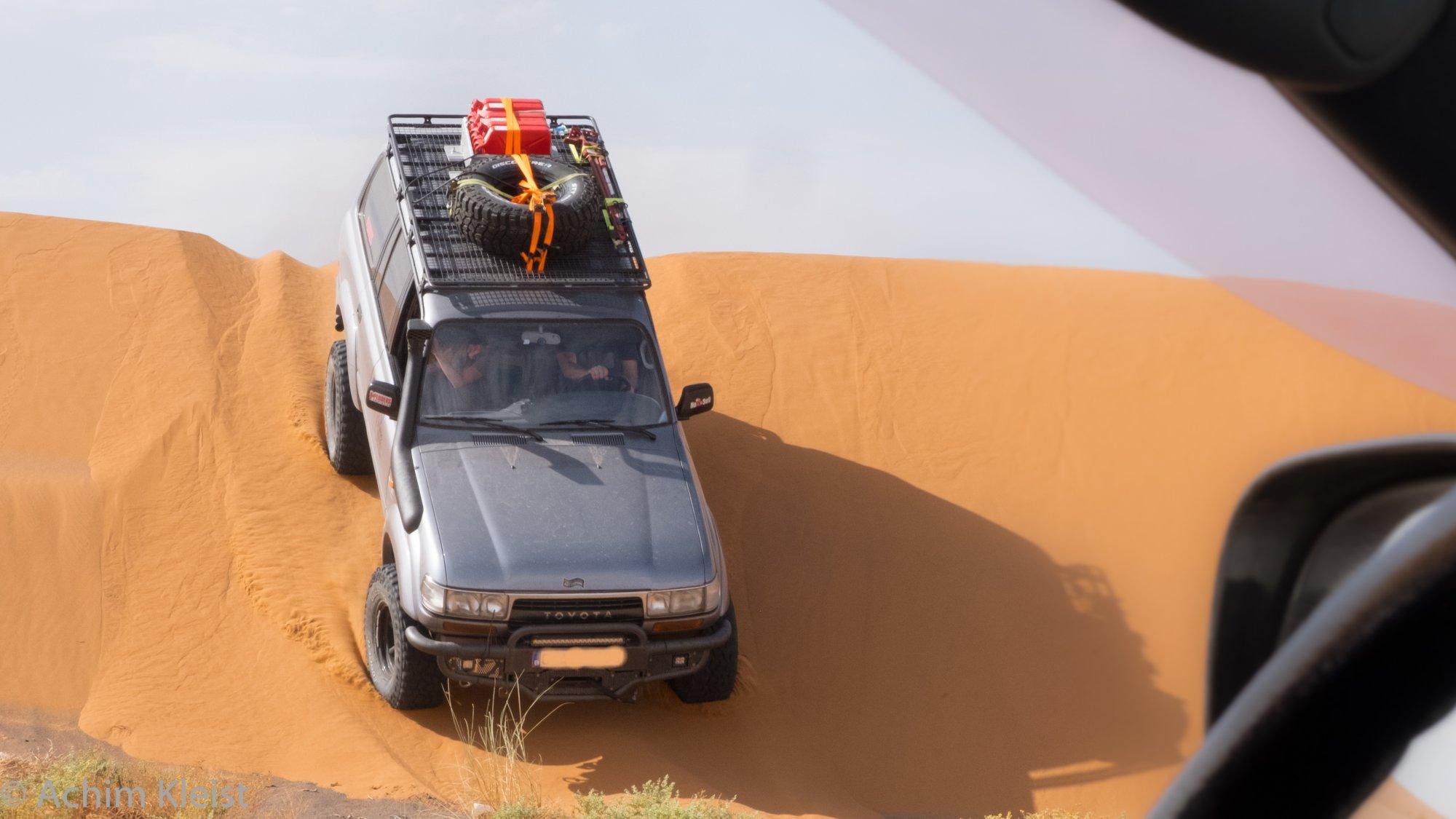 Unterwegs offroad in der Sahara
